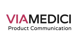 Logo viamedici produkt communication