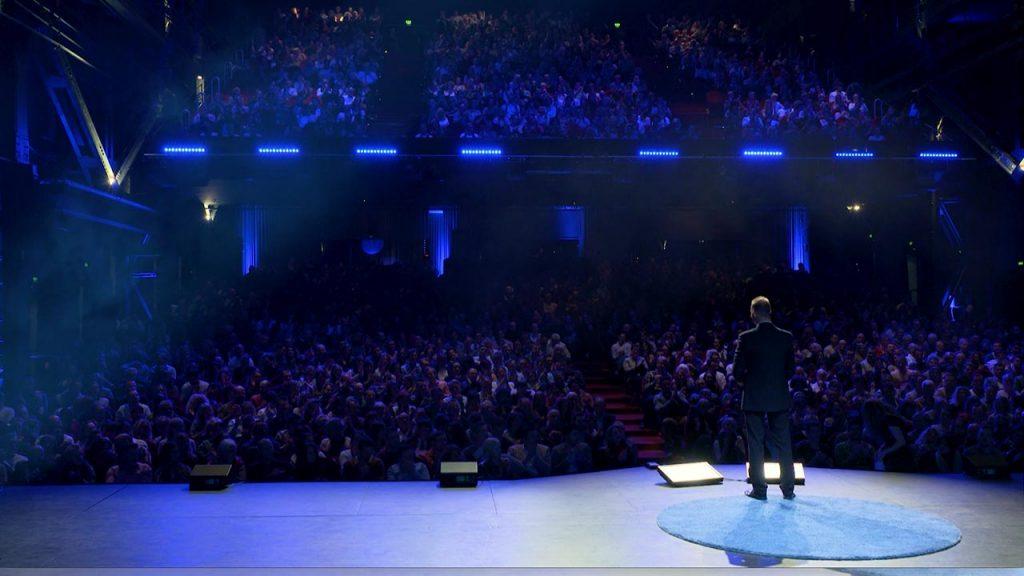 Bühne Keynote Speech Motivationstraining