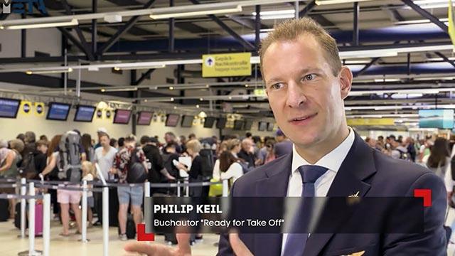 SAT1 Philip Keil Interview System Billigflieger
