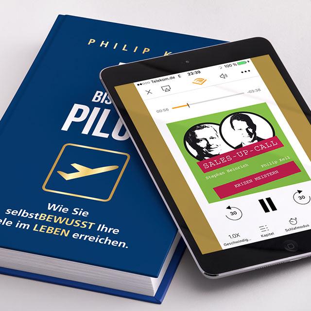 Buch Du bist der Pilot, Hörbuch Krisen meistern