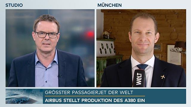 WELT Interview Philip Keil aus für A380