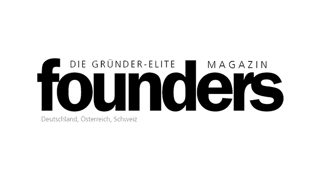 Logo founders Magazin