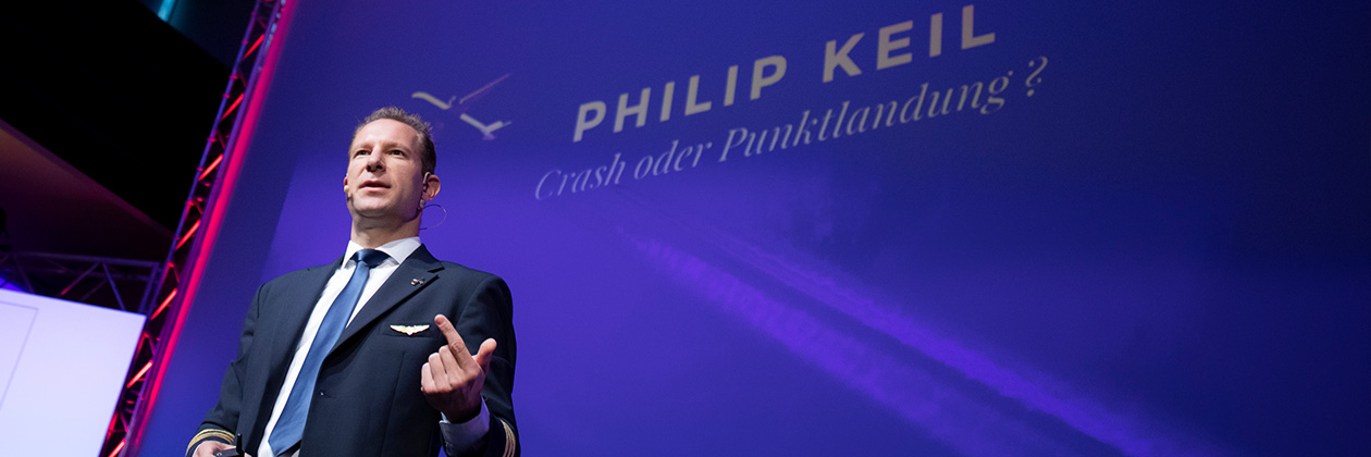 Positive Fehlerkultur: Referent Philip Keil